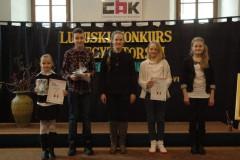 LUBUSKI KONKURS RECYTATORSKI - przegląd rejonowy - klasy IV-VI - 21.03.2013