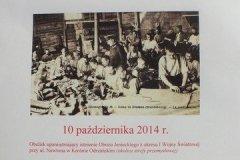 Obchody - 100. rocznica utworzenia obozu jenieckiego w Krosnie Odrz. - 10.10.2014