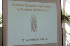 Obchody 25-lecia Zwiazku Sybirakow w Krosnie Odrzanskim-17.09.2014