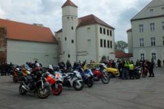 Otwarcie Sezonu Motocyklowego - Msza polowa w Zamku Piastowskim - 12.04.2014
