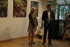 """Otwarcie wystawy Danuty Kocur pt. \""""Woalka tajemniczości\""""-02.12.2012"""