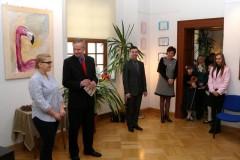 Otwarcie wystawy Katarzyny Cebuli - 13.04.2013