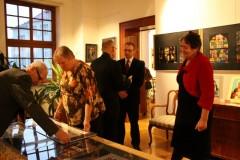 """Otwarcie wystawy \""""Madonny i witraże\"""" - 21.01.2012"""