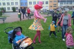 Piknik sportowo - rolkowy z okazji  DNIA DZIECKA-01.06.2013
