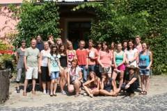 """Plener malarski \""""Ogrodowe marzenia\"""" w Bad Muskau-22-27.07.2012"""
