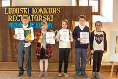 Przeglad rejonowy - Lubuski Konkurs Recytatorski - II kategoria - 27.03.2014