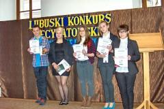 Przeglad rejonowy - Lubuski Konkurs Recytatorski - III kategoria - 28.03.2014