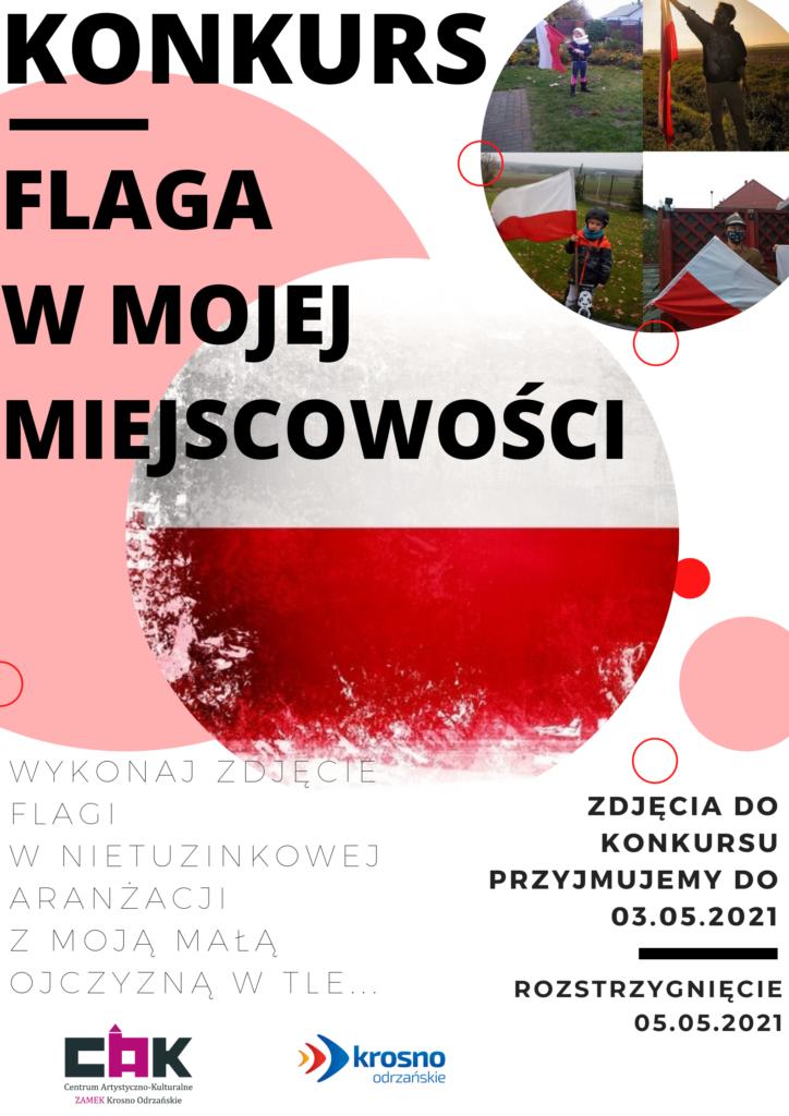 Konkurs Fotograficzny -FLAGA W MOJEJ MIEJSCOWOŚCI-