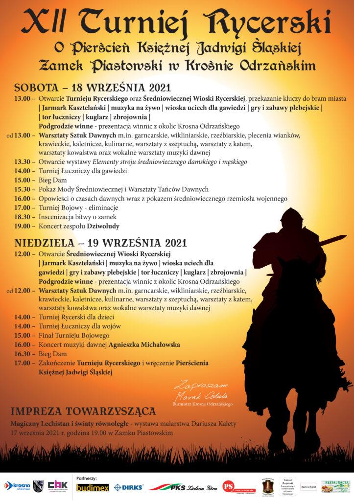 XII Turniej Rycerski o Pierścień Księżnej Jadwigi Śląskiej.